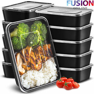 Meal Prep Food Containers 650 ML Reusable Microwave Freezer BPA Free Lunch Box