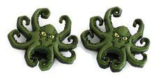Disney Kraken Octopus Rare Jibbitz Croc Shoe Bracelet Wristband Charm Set of 2