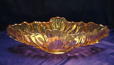 Stunning Vintage Long Wide Irridescent Fruit BOWL