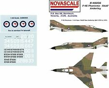 RAAF F-4E Phantom Decals 1/48 Scale N48036