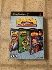 Crash Bandicoot Action Pack Sony Playstation 2 Ps2 Complete Tested & Work Read