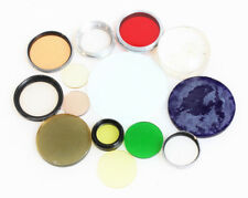 PHOTOGRAPHIC FILTERS MIXED SIZE/COLOR LOT