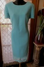 VINTAGE 90'S does 50'S ~ GEORGE GROSS ~ Sheath ~ DRESS * Sz 14 *