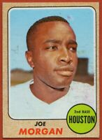 1968 Topps #144 Joe Morgan EX-EXMINT Marked Houston Astros FREE SHIPPING