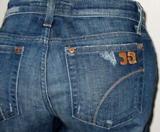 JOE'S JEANS *ROCKER* in KATES Wash Distressed BOOT SIZE 28 Top Stitched Pockets