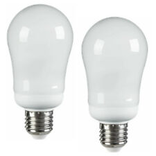 2 x 20w Energy Saving ES Warm White Light Bulb GLS A Shape Lamp Edison Screw