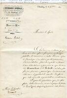Duché de Savoie (Pas Français) - Chambéry - Secteur du Service Postal de 1850