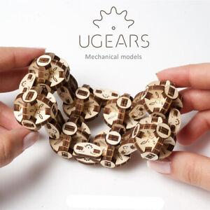 NEW UGears Flexi Cubus Mechanical Model Kit | FREE Shipping
