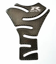 Real Carbon Fiber +chrome Tank Protector Pad fits Suzuki GSX-R 1000 GSXR GSX-R