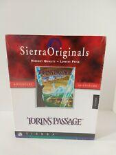 Torin's Passage Sierra Adventure Game PC CD-Rom 1995 Big Box Sealed