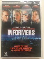 Informers DVD NEUF SOUS BLISTER Billy Bob Thornton, Kim Basinger, Mickey Rourke