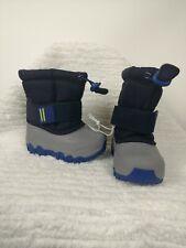 CAT AND JACK NAVY BLUE BARRETT BOYS SNOW BOOTS