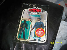Vintage Star Wars Bespin Security Guard Black Carded 47 back MOC