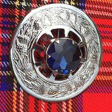 Kilt Mouche Plaid Broche Pierre Bleue/écossais Broche/Broches/pins