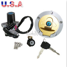 Ignition Switch Gas Cap Cover Lock For Ducati Monster 750 IE Dark Metallic City