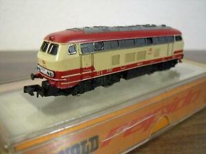 Arnold 2052 Mehrzweck-Diesellok 218 in rot-beiger TEE-Lackierung Spur N