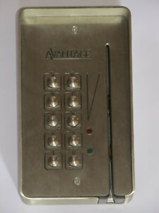 Bell System Stainless Steel Keypad / Magstripe Reader Ideal Spare Film / TV Prop