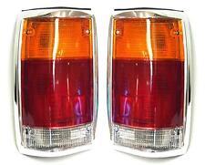 Mazda B2000/B2500 1985-1998 Cola trasero derecha + izquierda Señal Luces Lámparas Set Chrom