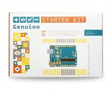 Original Arduino Genuino starter kit English manual 170 pages, Made in Italy