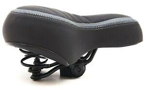 Dunlop Fahrradsattel Fahrradsitz Fahrrad breiter Komfort Sattel Feder City Gel