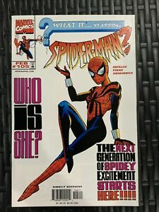 MARVEL COMIC WHAT IF? SPIDER-MAN? # 105 NM/MT COMIC 1st SPIDER-GIRL MAY PARKER
