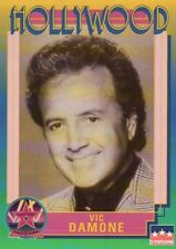 Vic Damone, Singer, Hollywood Star, Walk of Fame Trading Card --- NOT Postcard