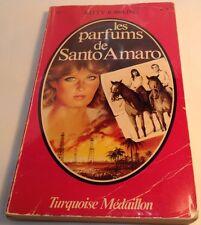 Book in French LES PARFUMS DE SANTO AMARO Livre en Francais TURQUOISE MEDAILLON
