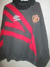 Manchester United 1990's Drilltop Football Shirt Large /19747