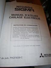 Mitsubishi SIGMA 1991 1992 : Schémas électriques