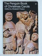 Le pingouin Livre de chants de Noël, Elizabeth Poston 1965 1st ed.