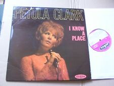 Petula Clark, I know a place LP VG +/VG (+) Vogue Records LDS 672 GERMANY 1965