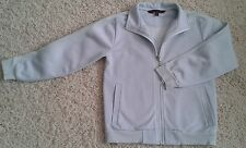 BOYS FRENCH CONNECTION LONG SLEEVE ZIP-UP JACKET.ICE BLUE 8yrs