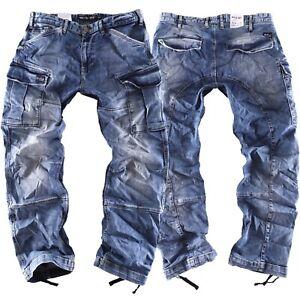 Big Seven Brian va comfort fit Herren Cargo Jeans Hose Übergröße XXL