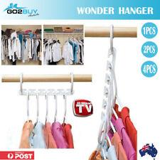 Wonder Hanger Pack of 8 Hangers - White