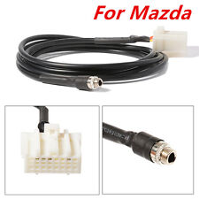 Car AUX In Input Female Jack Interface Adapter Cable For Mazda 3 6 MX-5 RX8
