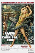 SLAVE OF THE CANNIBAL GOD Movie POSTER 27x40 Stacy Keach Ursula Andress Claudio