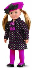 "Our Generation Deluxe Outfit Oh My Posh Dress Set Pink for 18""Doll"