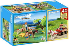PLAYMOBIL Country - 40th Anniversary Pony Pasture Compact Set 5457 BNIB 4-10 yrs