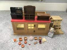 Sylvanian Families 1980's Vintage Bakery plus many accessories and figure
