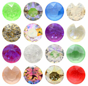 Genuine AURORA A1088 Chaton Round Stones Crystals * Many Colors & Sizes