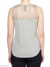 Lace Tank, Cami Solid Sleeveless Tops & Blouses for Women