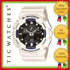 Matte Analog & Digital Unisex Round Wristwatches