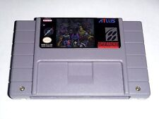 Shin Megami Tensei - game For SNES Super Nintendo - RPG cart only