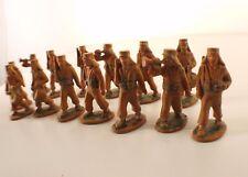 Starlux lot 14 soldats légionnaire avec couvre nuque 1er type défilé 1948 RARE