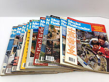 12 Issues Complete 1998 Year - Model Railroader Magazine Back Issue Train