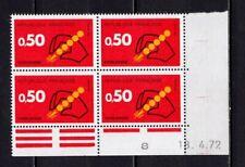 Ba151* Bloc coin Daté de 1972 =>Code Postal n°1720  Neuf**MNH TBE
