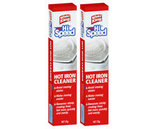 2 x White King Hi Speed Hot Iron Cleaner 25g