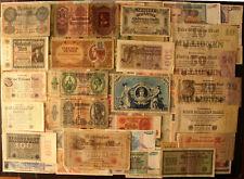 Lot 100 Pcs Different World Banknotes Set Vintage Paper Money Europe Germany