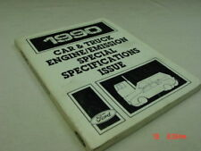 Vintage Ford 1990 Car Truck Engine Emissions Special Specifications Issue