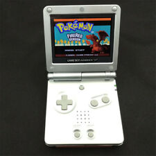 Silver Game Boy Advance GBA SP Console w/ AGS 101 Brighter Backlit LCD Console